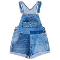 Superdry Denim Cut Off Dungaree
