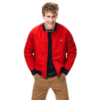 Lacoste Lightweight Texturized Bomber