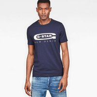 Gstar Graphic 4 Ribbed Neck