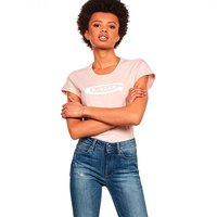 Gstar Graphic 20 Slim Ribbed Neck