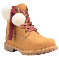 Timberland Icon Authentic Shearling Collar 6 In Waterproof