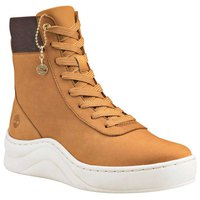 Timberland Ruby Ann Leather And Fabric Hightop