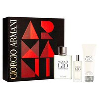 Giorgio armani Aqua Di Gio Eau De Toilette Vapo 100ml+Eau De Toilette Vapo 15ml+Shower Gel 75ml