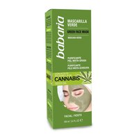 Babaria Cannabis Seed Oil Green Face Mask 100ml