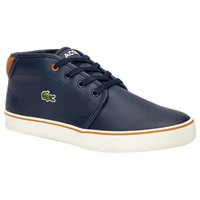 Lacoste Blue & Brown Ankle