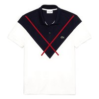 Lacoste Regular Fit Jacquard Patterned Pique