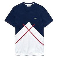 Lacoste Crew Neck Jacquard Patterned Pique