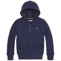 Tommy hilfiger Polar Fleece Half-Zip Hoody
