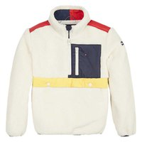 Tommy hilfiger Colour-Blocked Sherpa Popover