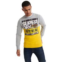 Superdry Crafted Check Crew