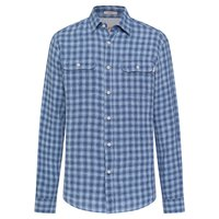 Hackett Blue Linen Chk