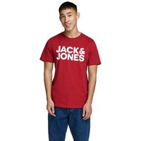 Jack & jones Corp Logo O-Neck Fit Slim Large Print
