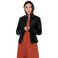 Only Bandit Faux Leather Biker
