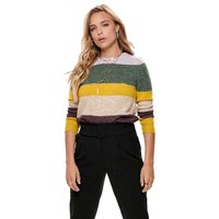 Only Susi Stripe Pullover Wool Knit