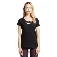 Tom tailor Organic T-Shirt With Lacing