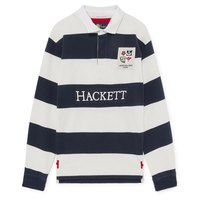 hackett-polo-manche-longue-lions-stripe-rugby