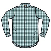 Timberland Suncook Riveer Poplin Medium Gingham Regular
