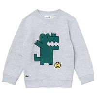 Lacoste Embroidered Crocodile Cotton