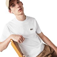 Lacoste Ribbed Crew Cotton