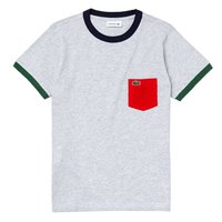 Lacoste Crew Contrast Accent Cotton