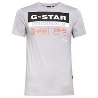Gstar Originals Label Logo Slim Ribbed