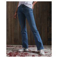 Superdry Mid Rise Slim Flare