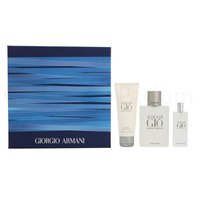 Giorgio armani Acqua Di Gio Homme Eau Toilette 100ml + Eau Toilette 15ml + Shower Gel 75ml