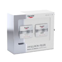 Eucerin Hyaluron Filler Dry Skin Cream 50ml + Night Cream