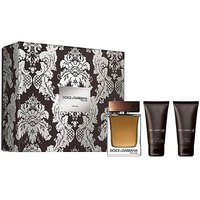 Dolce & gabbana The One Men Eau De Toilette 100ml+After Shave Balm 50ml+Shower Gel 50ml