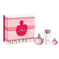 Nina ricci Eau De Toilette 50ml+ Body Lotion 75ml+Miniatura 4ml