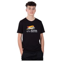 Alpha industries Rodger Dodger Kids/Teens Korte Mouwen T-Shirt